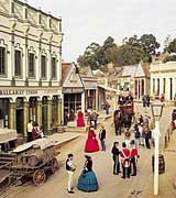 Sovereign Hill 19th Century re-enactment